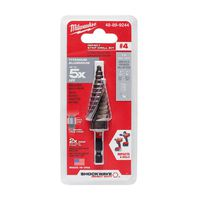 Milwaukee Tool - 48-89-9244 Shockwave Impact Duty Titanium Step Bit